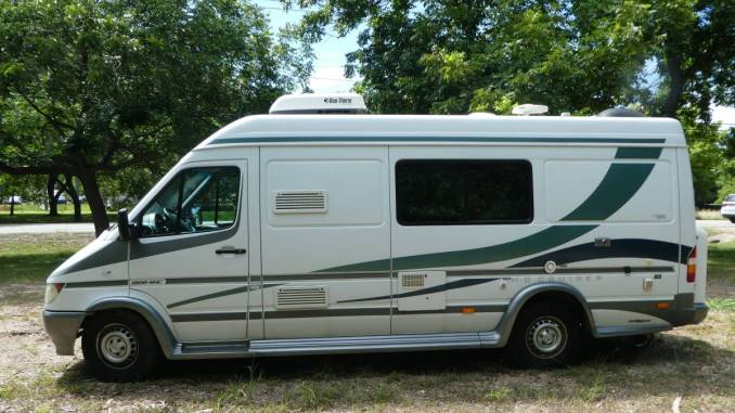 2005 Forest River Mb Cruiser Sprinter Class B Rv For Sale