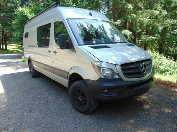 2015 Mercedes Sprinter 4X4 Conversion Camper For Sale South PDX, OR