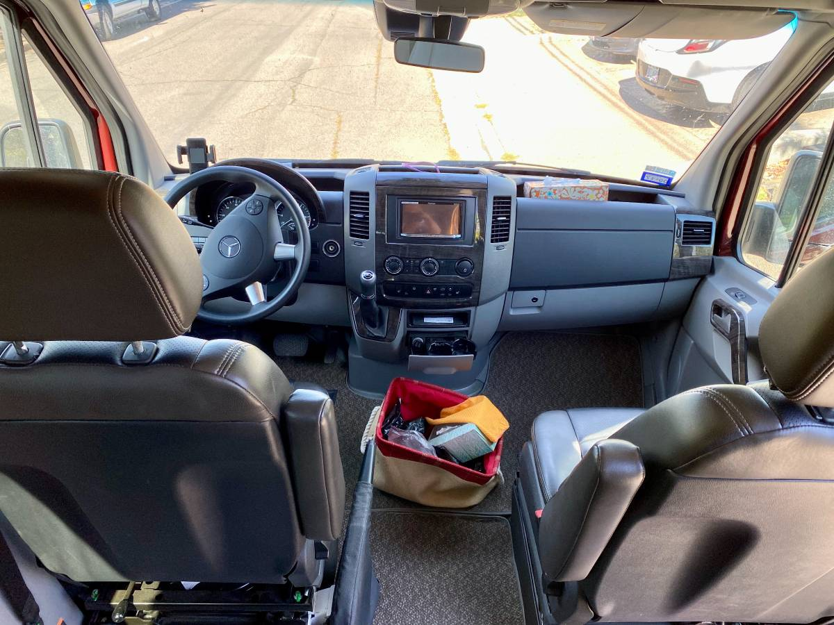 2015 Roadtrek Mercedes Sprinter Camper For Sale in Ashland, OR